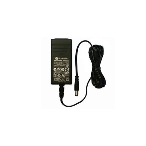 Polycom Power adapter for polycom SoundPoint IP 560, IP 321, IP 670, VVX 1500, 1 Pack
