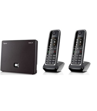 Gigaset N300A IP + 2x C530Hx handset
