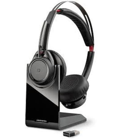 Plantronics Voyager Focus UC B825-M incl. lader met USB-adapter