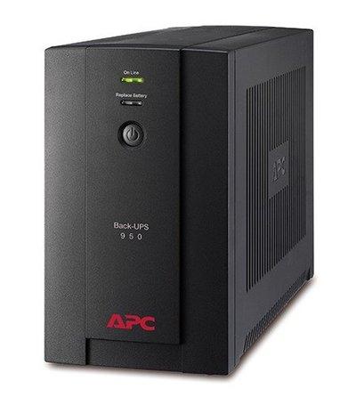 APC Back-UPS 950VA Noodstroomvoeding 4x schuko uitgang, USB