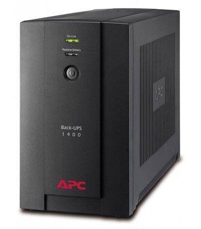 APC Back-UPS 1400VA Noodstroomvoeding 6x C13, USB