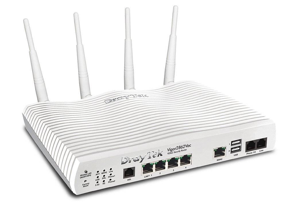 DrayTek Vigor 2762Vac VDSL2 router Annex A