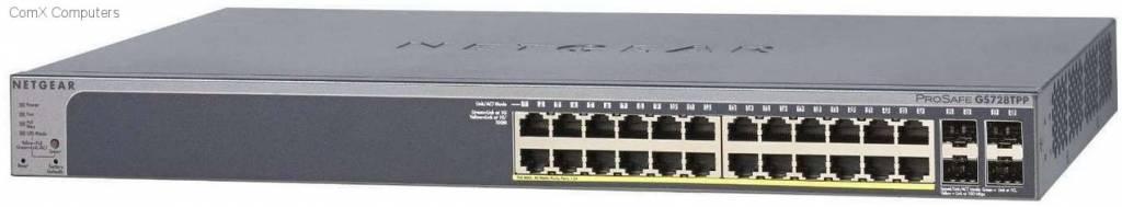 Netgear 28-Port Gigabit Smart Switch en 24 PoE 384W