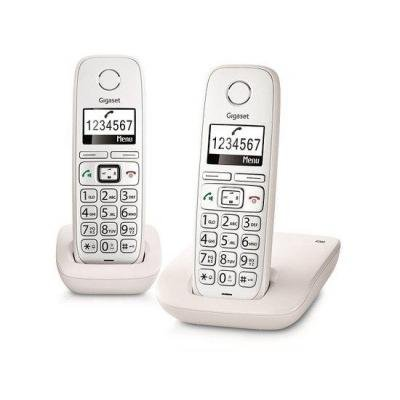 Gigaset E260 DUO BB Big Button White