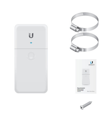 Ubiquiti NanoSwitch outdoor 4-port with PoE passthrough