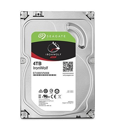 Seagate 4TB Guardian IronWolf NAS (ST4000VN008)