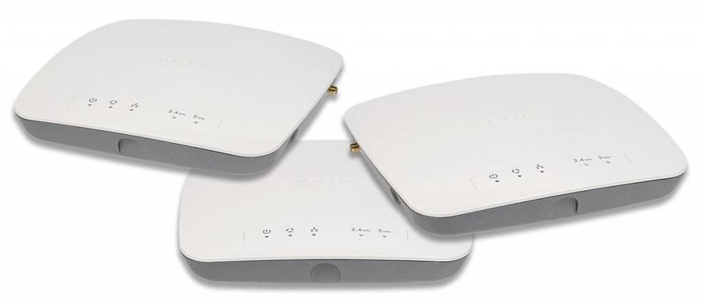 Netgear 3 Pack Bundle WAC730 3 x 3 Wireless-AC Access Point Bundle