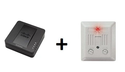 DectDirect.NL Externe SIP Audio Bel / Zoemer