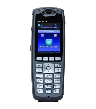 Spectralink 8440, Black handset with Lync, without batt. & charger