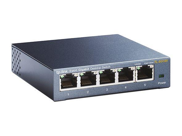 TP-Link TL-SG105 5-port GB Desktop switch