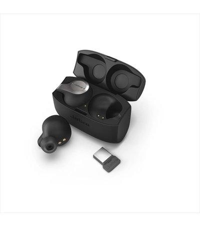 Jabra Evolve 65t Titanium Black  Link 370 MS (gecertificeerd voor MS Skype for Business)