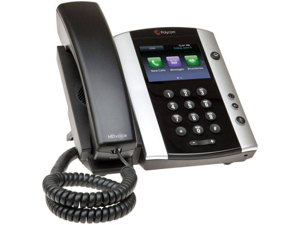 Polycom VVX 501 12-line Business Media Phone with HD Voice