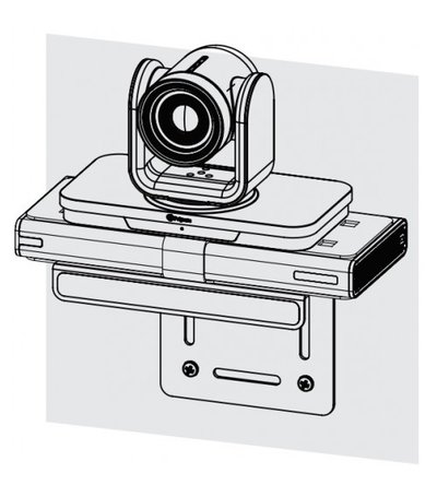 Polycom Mounting bracket for realgresence group 3x0 and 500.  allows Eagleeye