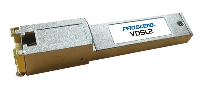 Interline 180-T SFP VDSL2 Modem