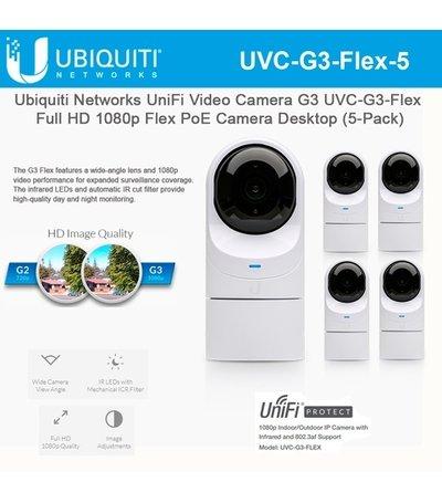 Ubiquiti UniFi Video G3-FLEX Camera 5-pack