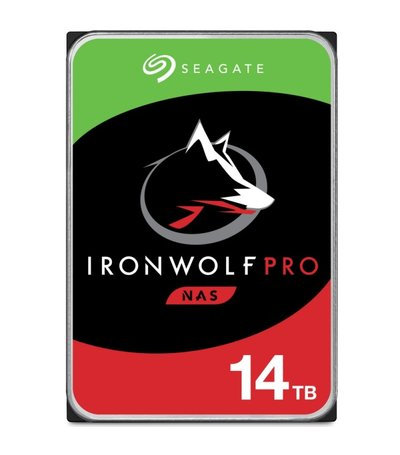 Seagate 14TB Guardian IronWolf Pro NAS