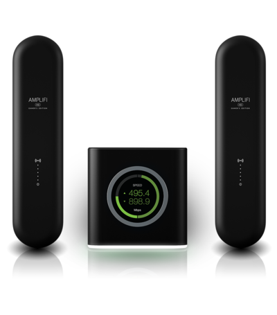 Ubiquiti AmpliFi Gamers Edition-  WiFi Router + 2 Mesh Points