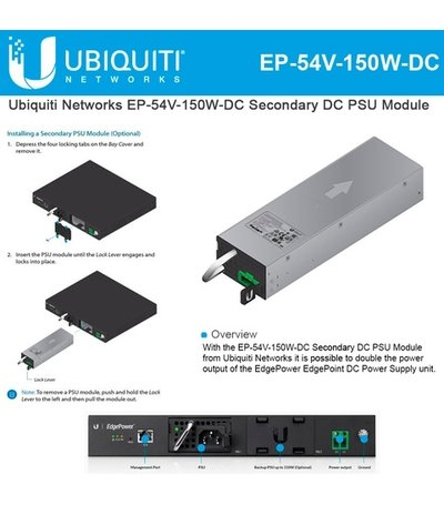 Ubiquiti EdgePower 54V 150W DC