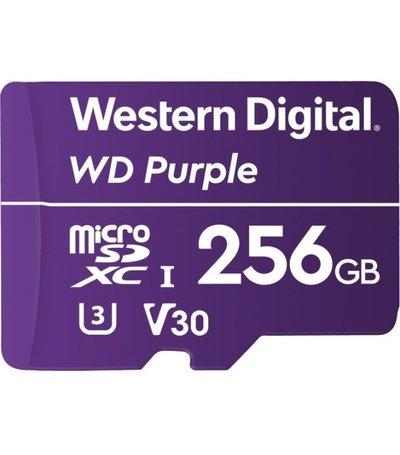 Western Digital 256GB Western Digital Purple Surveillance microSDXC