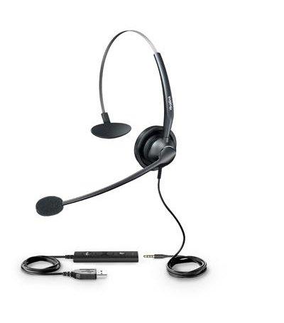 Yealink YHS33-USB, USB Headset IP phone  (V83 vereist T4s,T5)