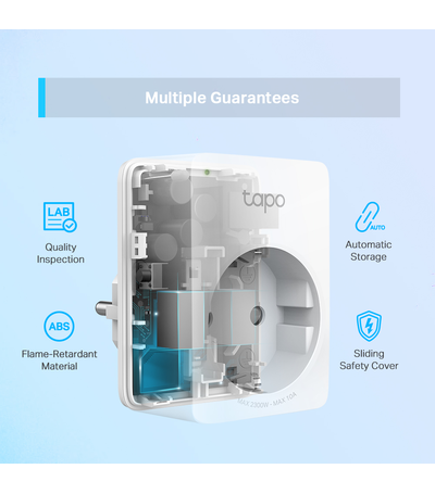 TP-Link Smart mini Wifi-stopcontact TAPO P100