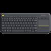 Logitech KB K400 Touch Plus Zwart draadloos Retail