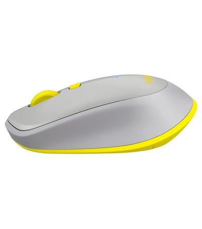 Logitech Mouse M535 grey yellow