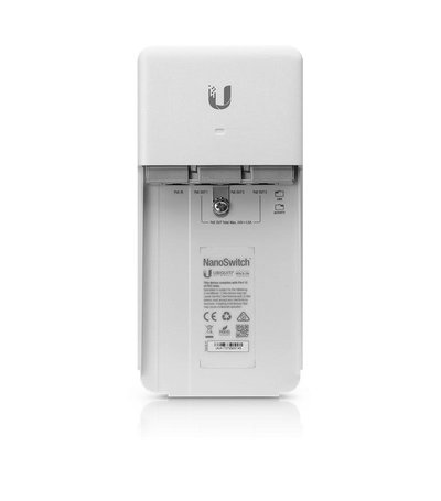 Ubiquiti NanoSwitch outdoor 4-port with PoE passthrough-DEMO