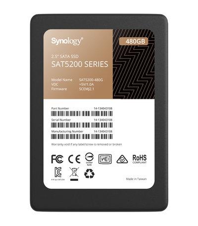 "Synology 480GB 2.5"" SATA SSD SAT5200-480G"