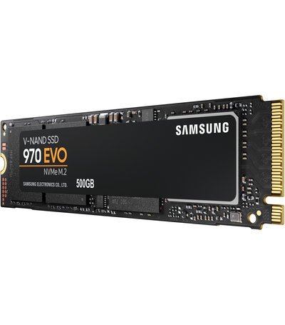 Samsung 500GB M.2 PCIe NVMe 970 EVO 3D/MLC/3400/2300
