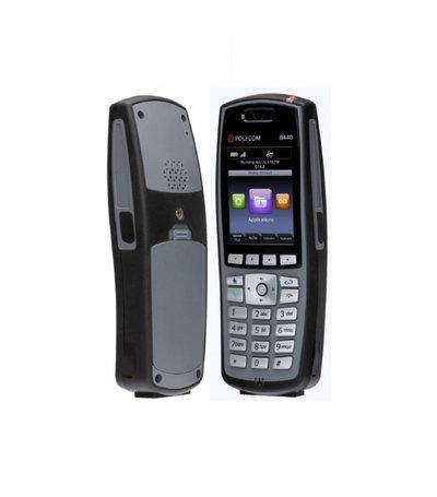 Spectralink 8440 zwart, excl. batterij/adapter  (z/Lync)-DEMO
