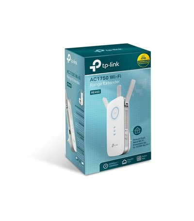 TP-Link Extender 1750Mbps RE450 Dual Band