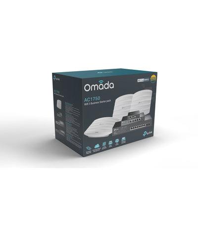 TP-Link Omada Wifi 5 Starter Pack 3x EAP245 + OC200 + TL-R605 + TL-SG2210MP