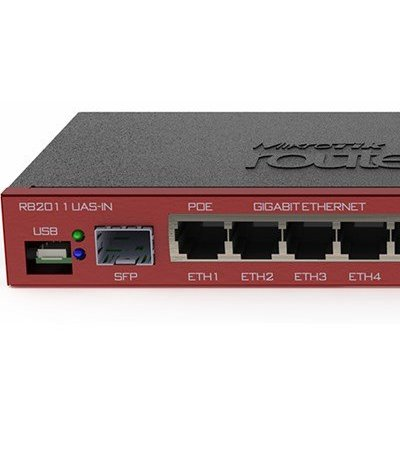 MikroTik RB2011UiAS-IN - Multiport router