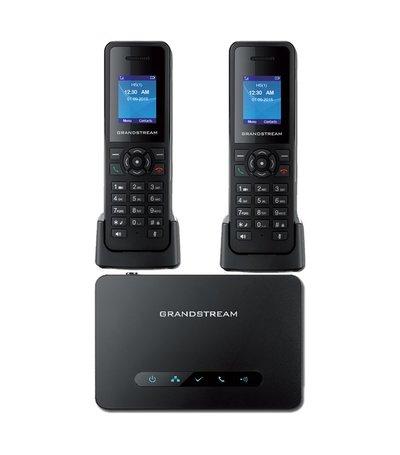 Grandstream DP-750 Basisstation + 2x DP-720 handset