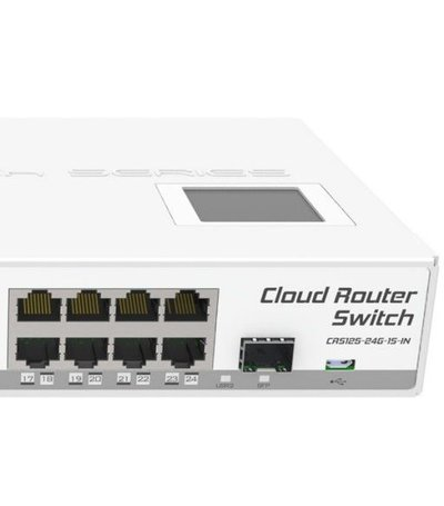 MikroTik Cloud Router Switch CRS125-24G-1S-IN