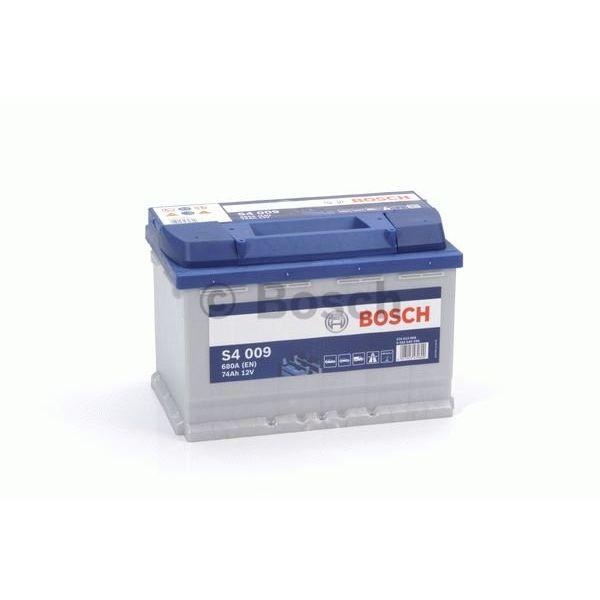 S4009 start accu 12 volt 74 ah + links
