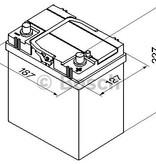 Bosch Auto accu 12 volt 40 ah Type S4018