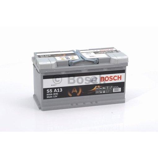 Bosch S5A13 AGM start accu 12 volt 95 ah