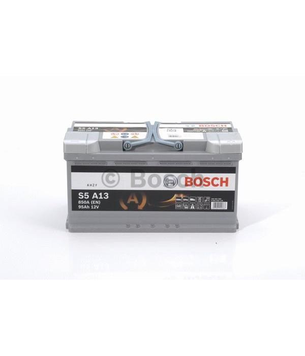 Bosch Auto accu AGM 12 volt 95 ah Type S5A13