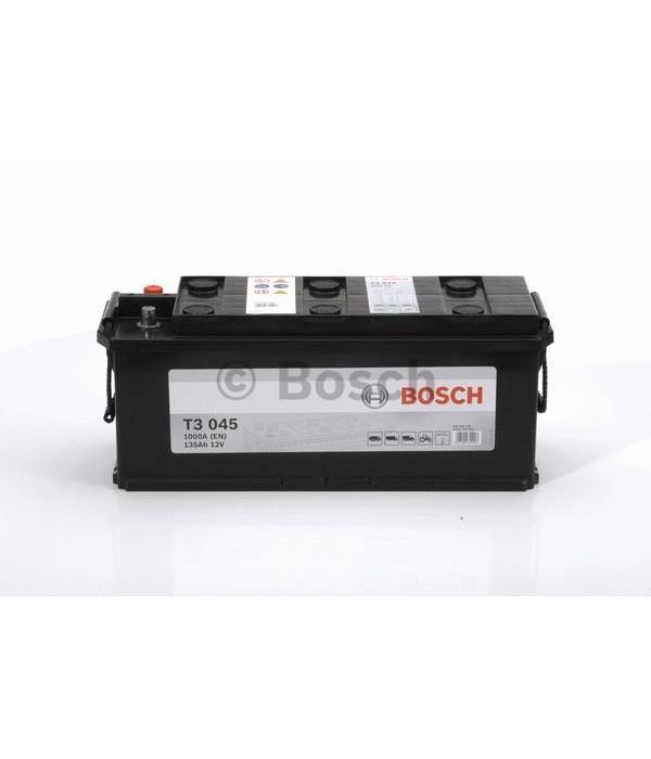 Bosch Startaccu 12 volt 135 ah T3 045 Black truckline