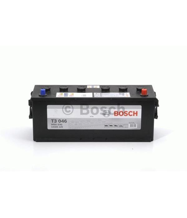 Bosch Startaccu 12 volt 143 ah T3 046 Black truckline