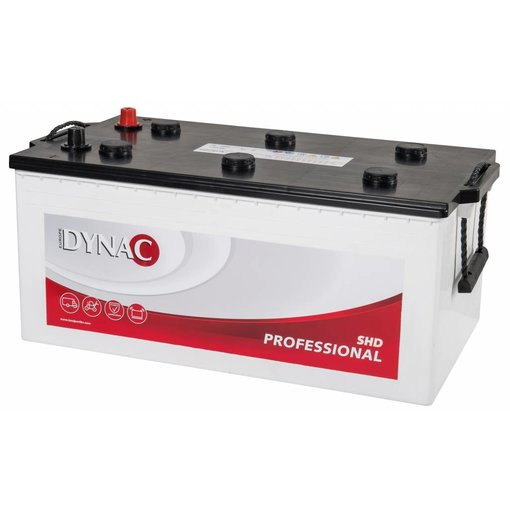 Dynac 12 volt 230 ah Type SHD 73011 startaccu