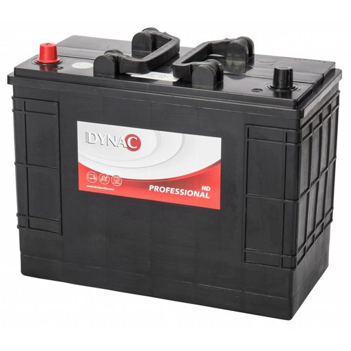 Dynac 12 volt 125 ah Type HD 62514 startaccu