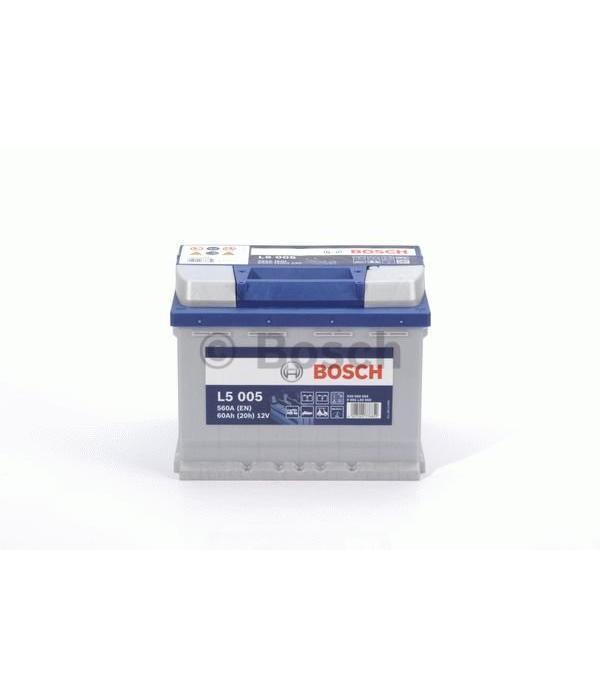 Bosch Accu semi tractie 12 volt 60 ah Type L 5005