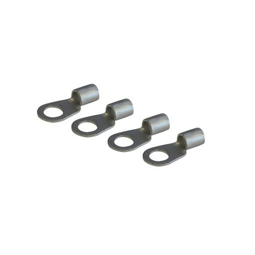 4 stuks Kabelschoen voor kabel Ø 16 mm² met oog Ø 8 mm