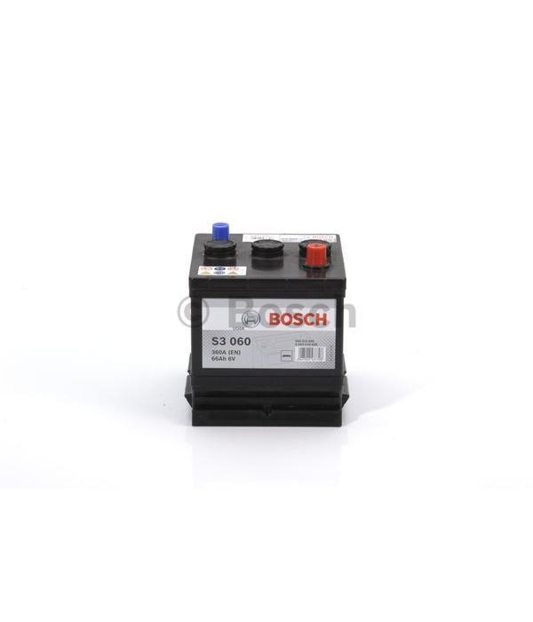 Bosch Auto accu 6 volt 66 ah Type S3060