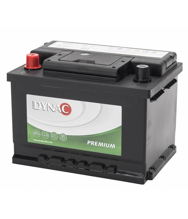 Dynac Auto accu 12 volt 55 ah Type 55565L + links
