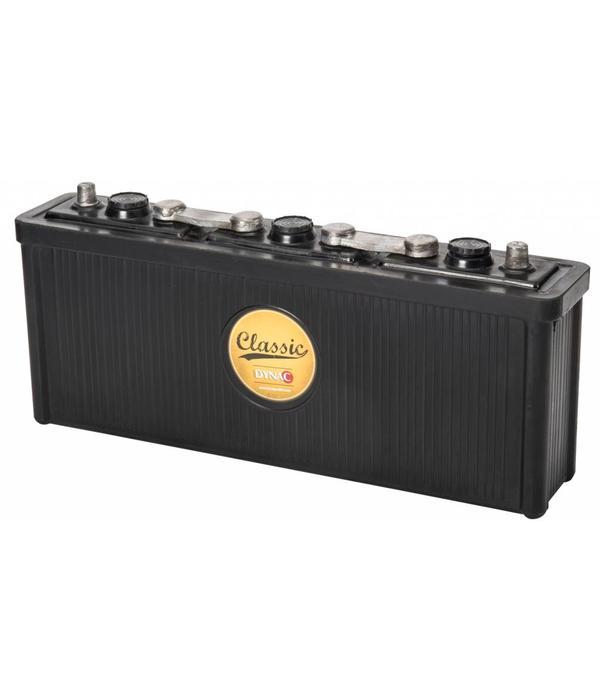 Dynac Auto accu 6 volt 112 ah Type 11213 hard rubber