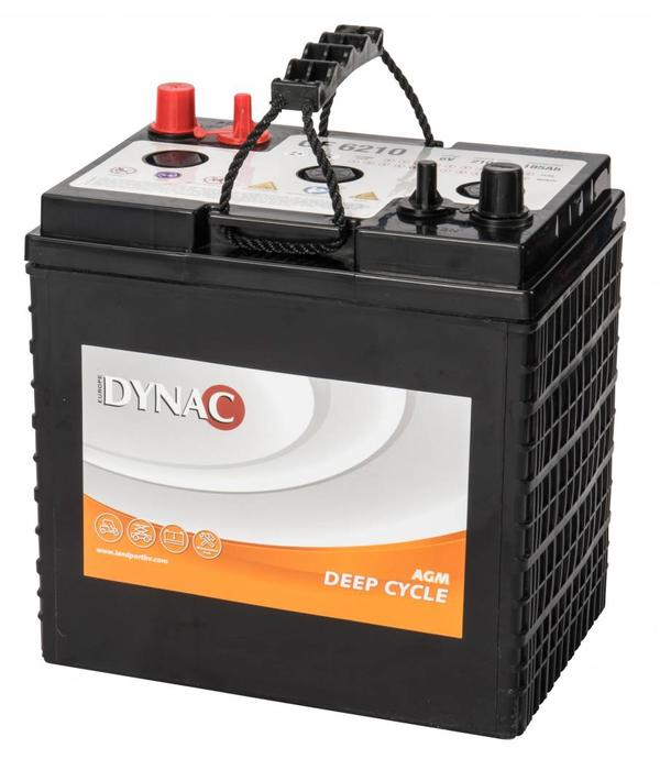 Dynac Deep Cycle accu 6 volt 213 ah Type GF 6210 AGM